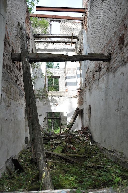Een van de Soviet resten in Hiiumaa