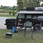 Op de camping in Suzdal
