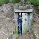 Ingang van een bunker