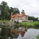 Huisje voor het kasteel van Kuressaare