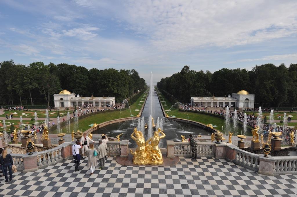 Petershof: gebaseerd op Versailles