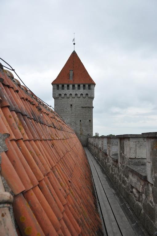 Wachtgang op het kasteel