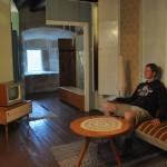 In de ouderwetse huiskamer :-)