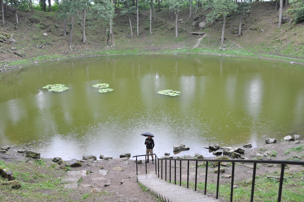 Meteoor krater Saaremaa