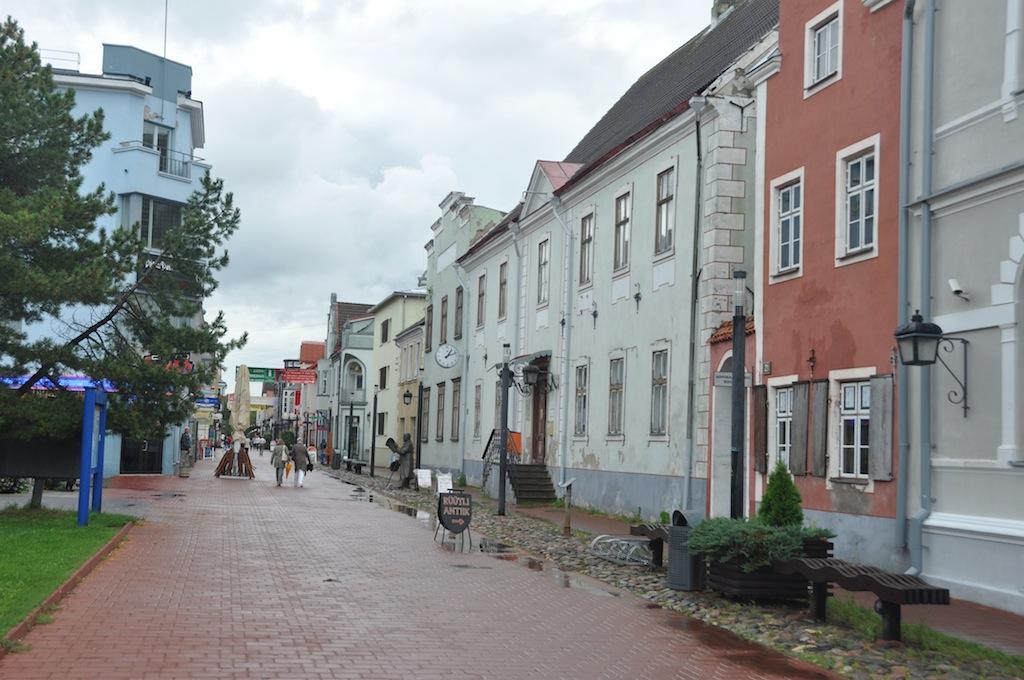 Straat in Parnu