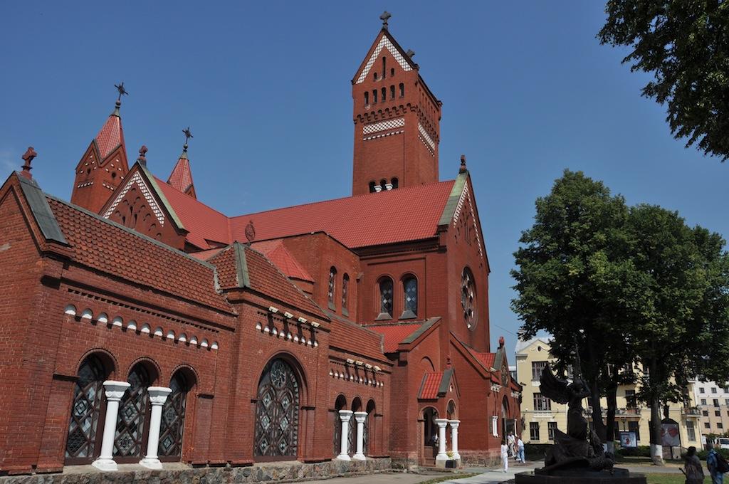 Kerkje op het plein