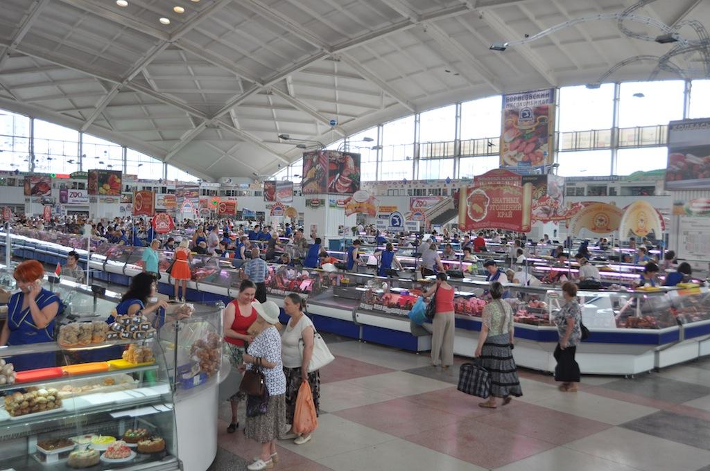 De markt van Minsk