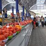 De fruitmarkt van Minsk