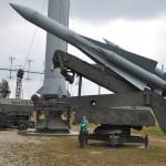 Raket in het Stalin Line museum