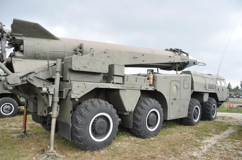 Nog een raket in het Stalin Line museum