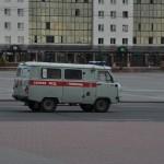 De ambulance ... Ik wil niet ziek worden hier :-)