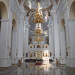 In de grote kerk van Vitebsk
